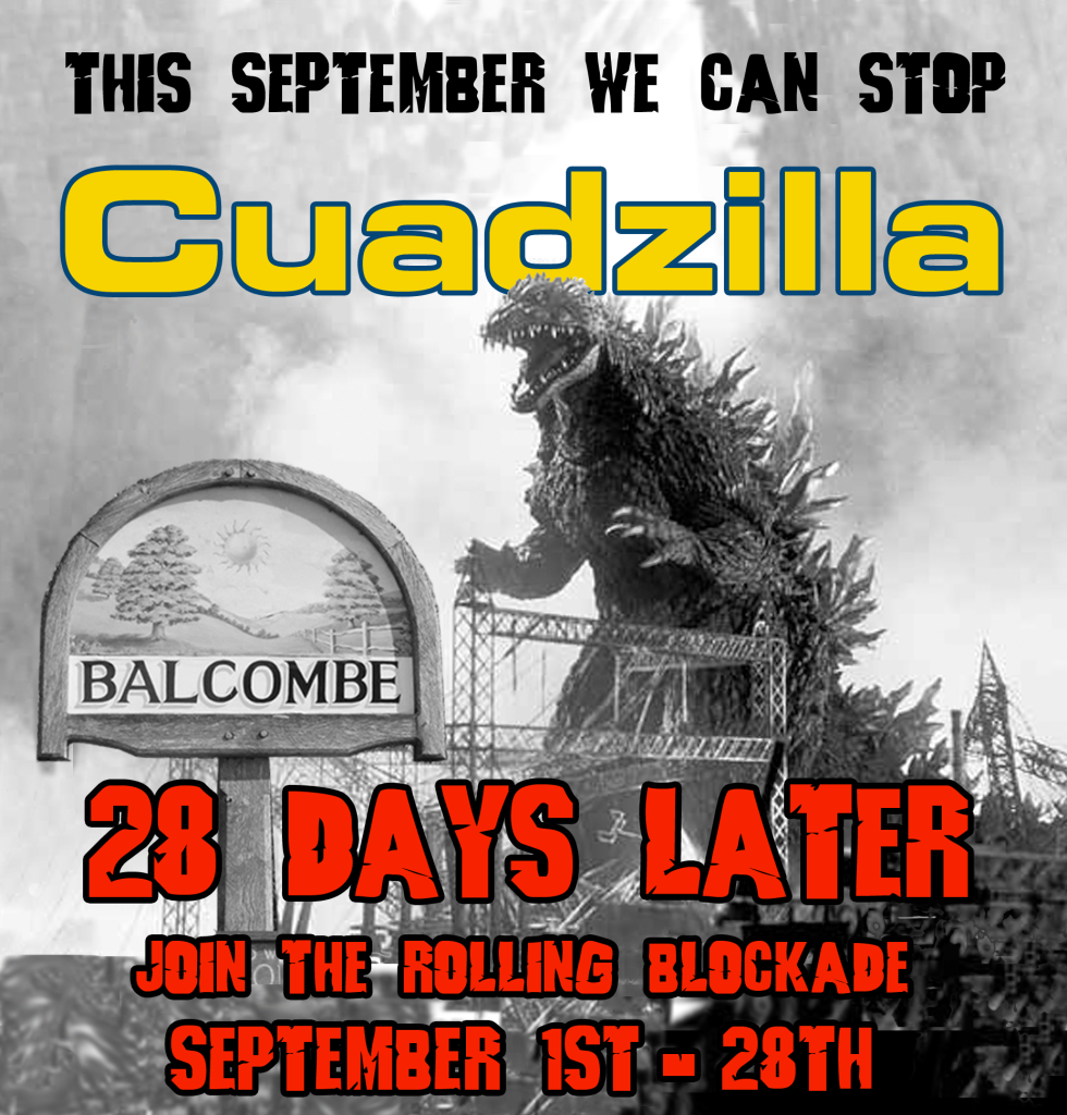 Cuadzilla Balcome Rolling Blockade Red Version