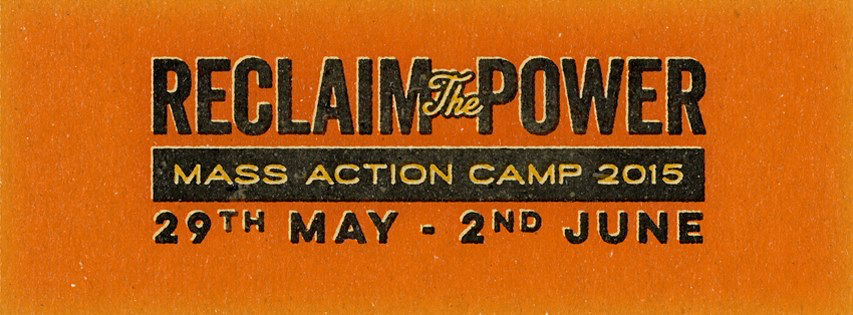 Reclaim the Power Didcot banner 2015