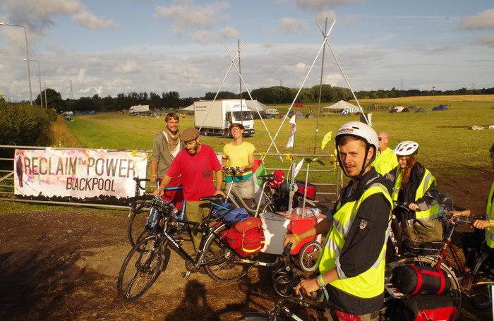 Tour de Frack depart 1