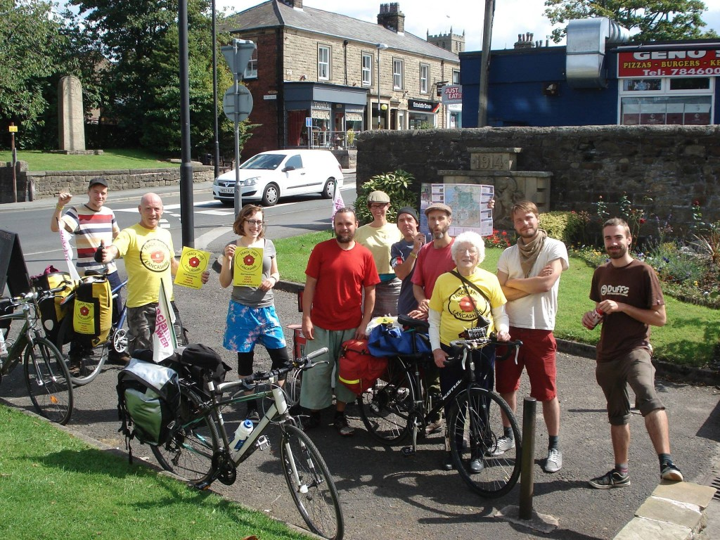 TdF Campaigners in Longridge
