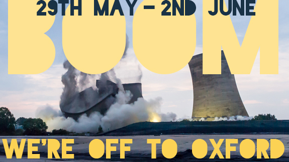 BOOM - We're going to Didcot - May 2015
