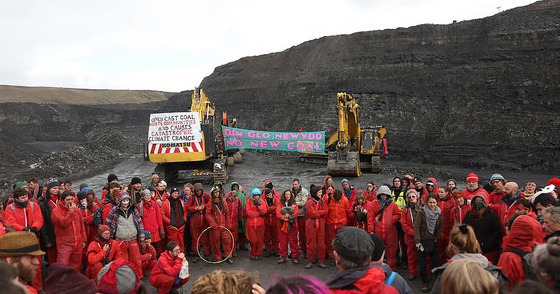 End Coal Now - Ffos-y-fran 2