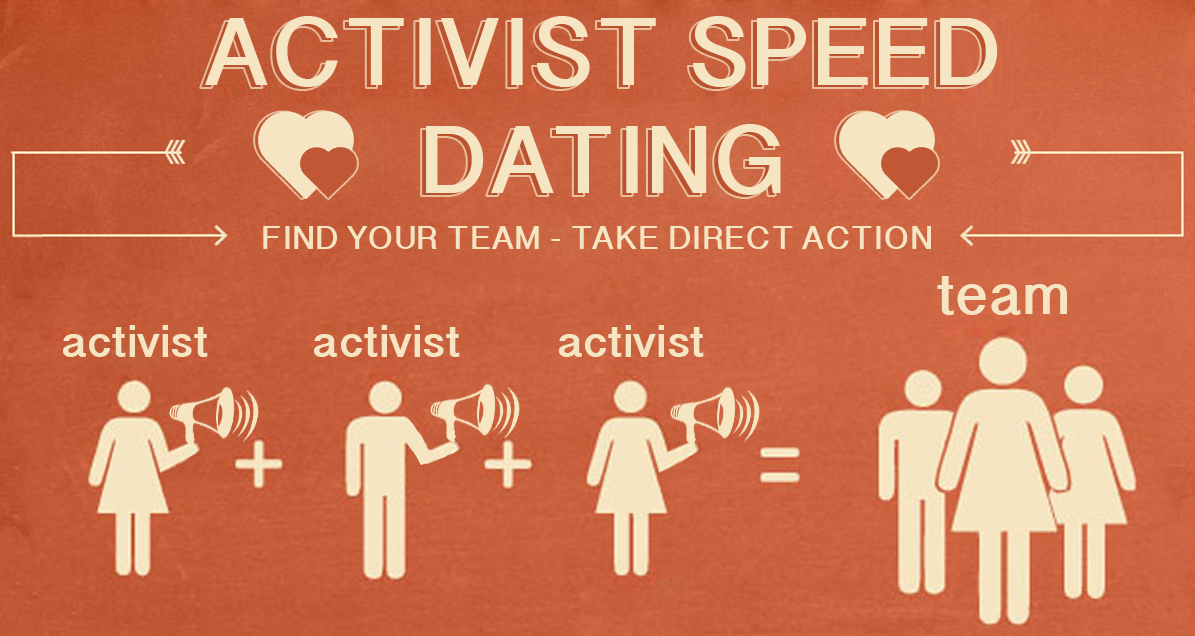 Activist speed dating