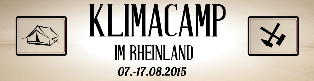 Klimacamp-2015