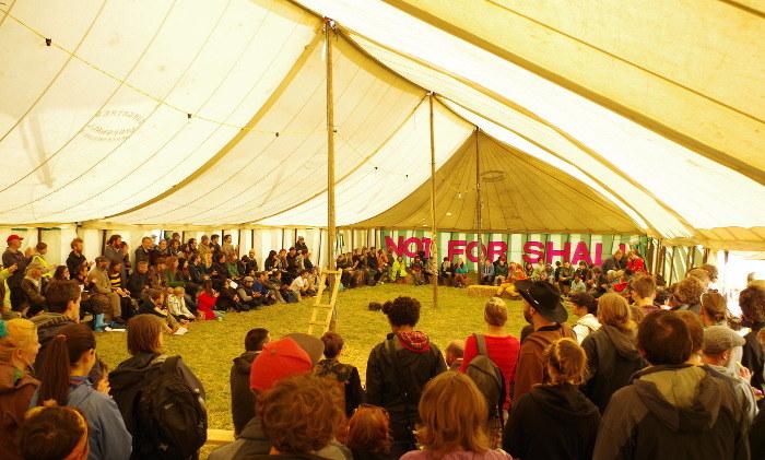 Plenary meeting at Blackpool RTP camp 2014