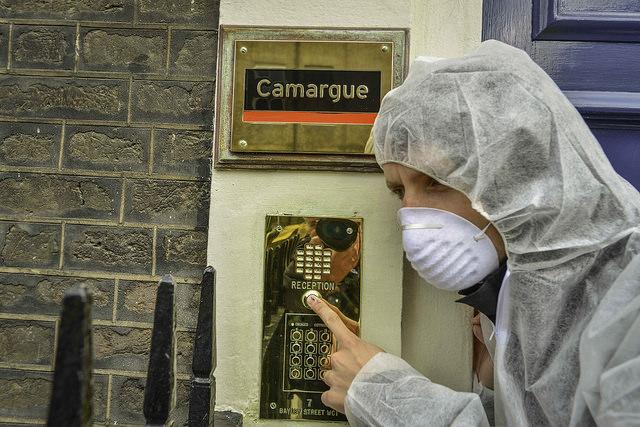 Camarque blockade 6