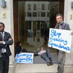 Energy UK blockade