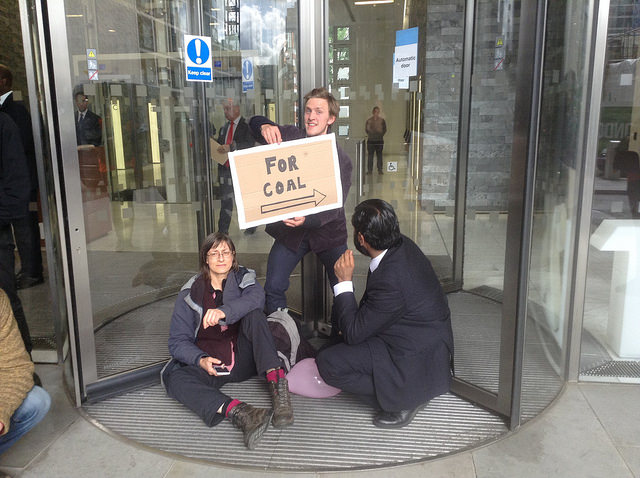 Invesco revolving door action