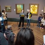 Shell rebrand Van Gogh's flowers