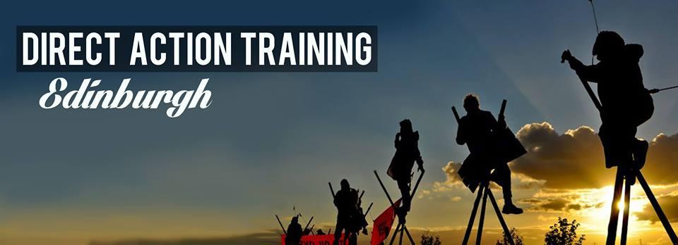 Edinburgh Direct Action training