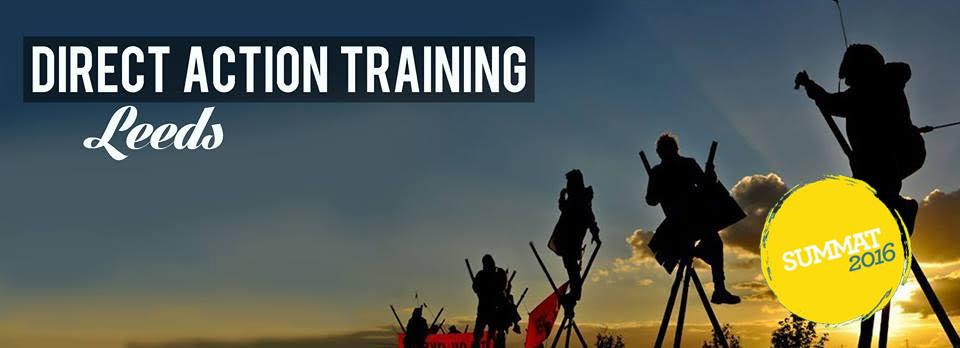 Leeds Direct Action training