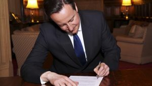 Another politician signing another climate deal