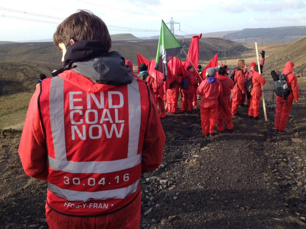 End Coal Now action - May2016