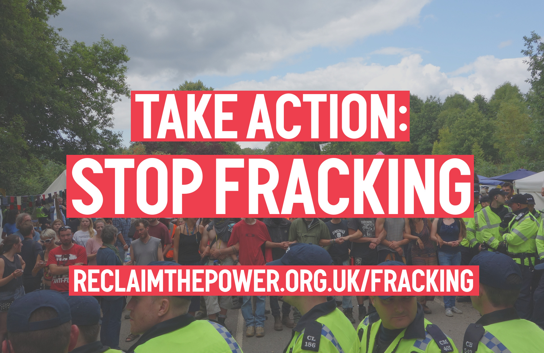 Reclaim the Power statement on Cuadrilla's fracking moves at Preston New Road