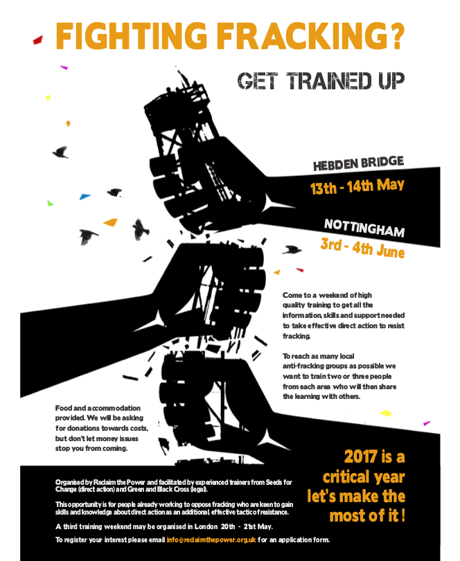 fracking trainings 2017