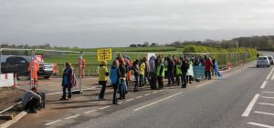 Daily Protests at Preaton New Road, Lancashire 2