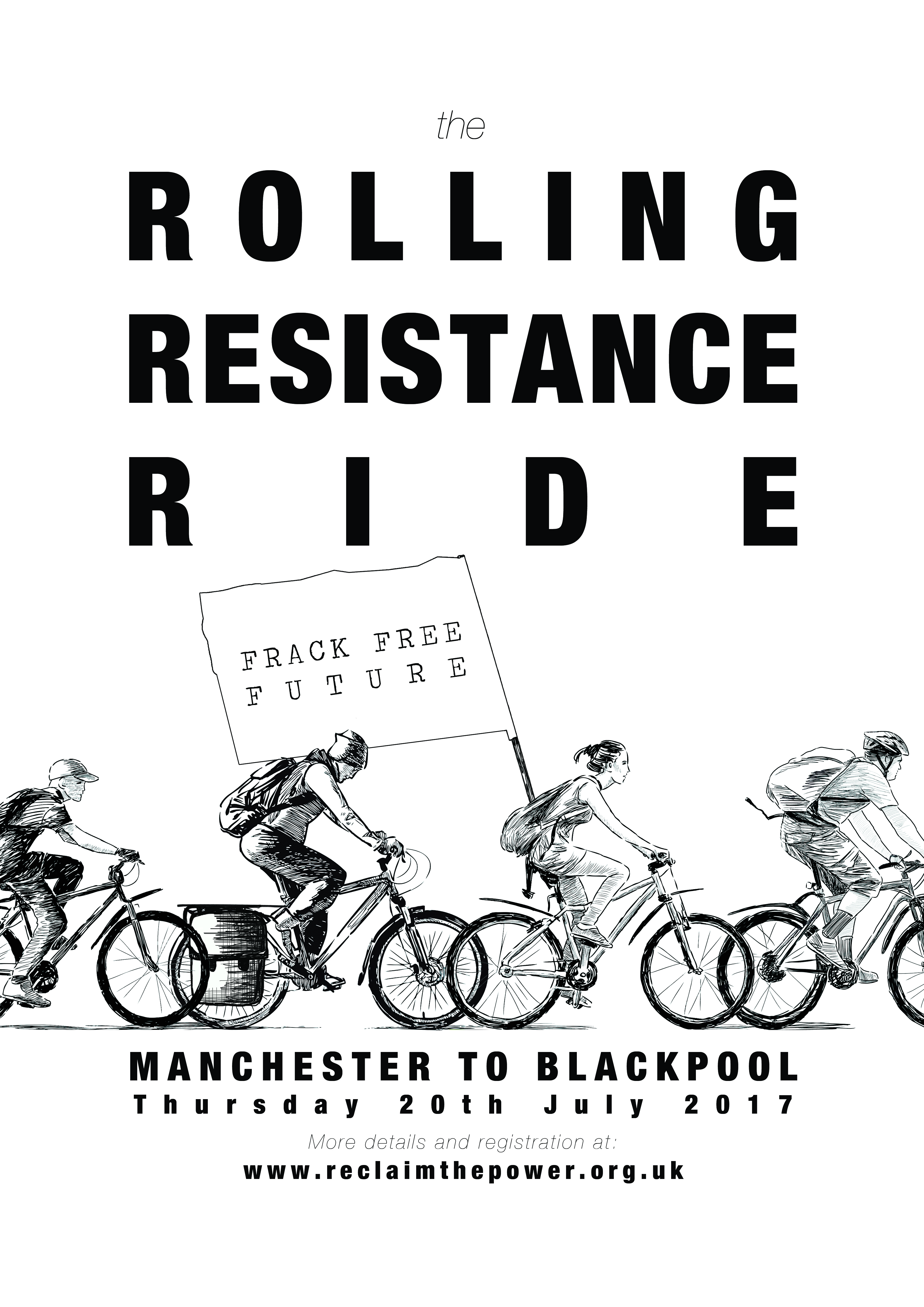 A3 poster - Rolling Resistance Ride