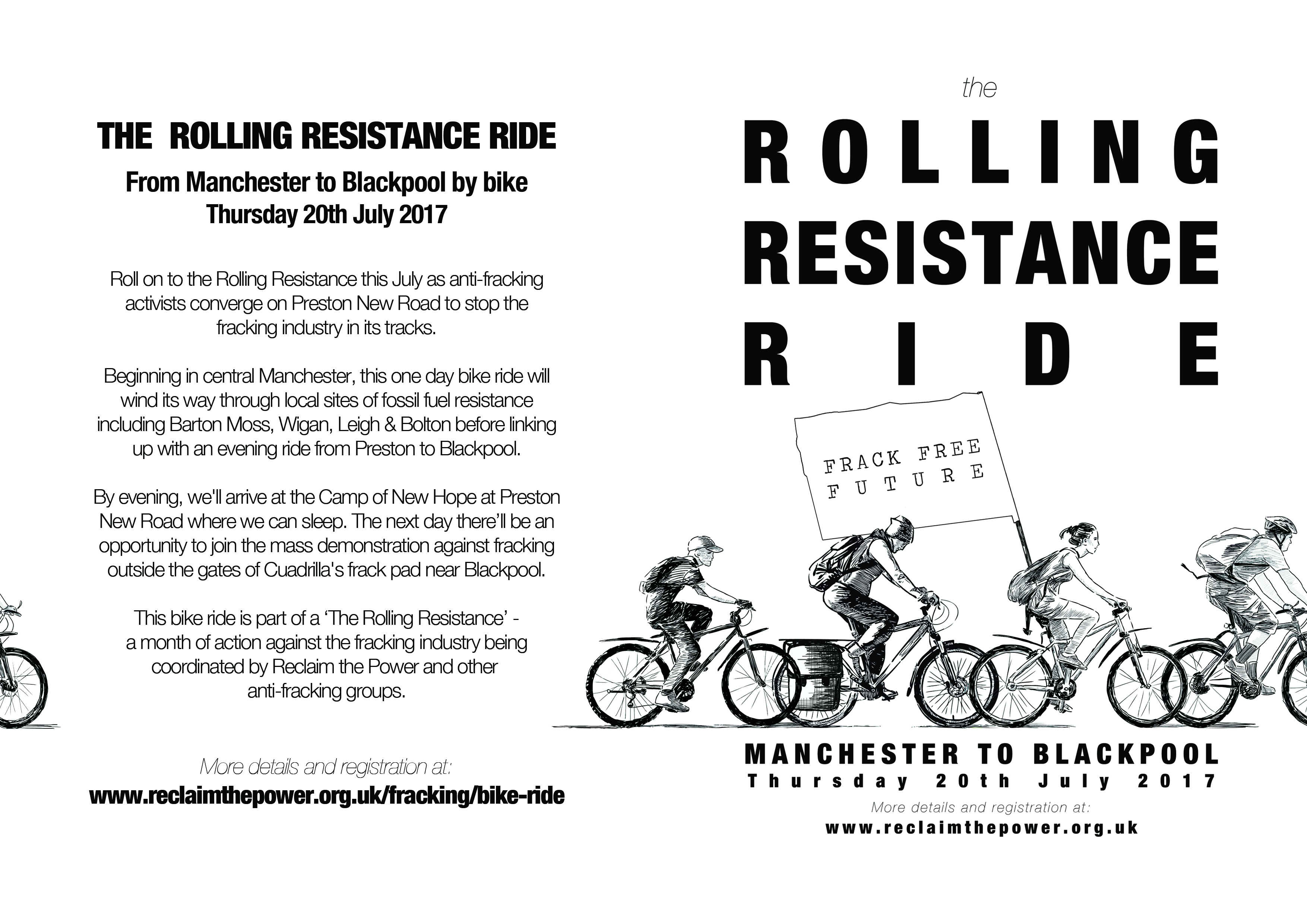 A5 flyer - Rolling Resistance Ride