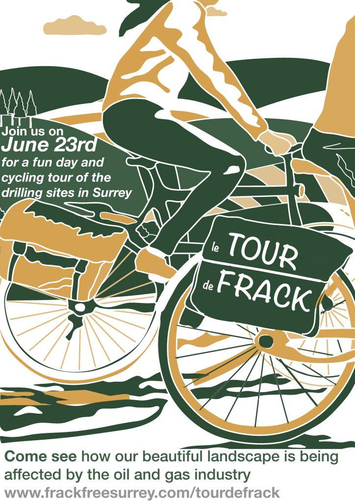 Tour De Frack leaflet