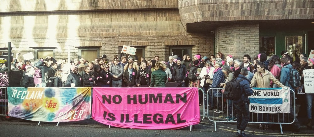 Reclaim the Power stand with the Stansted 15