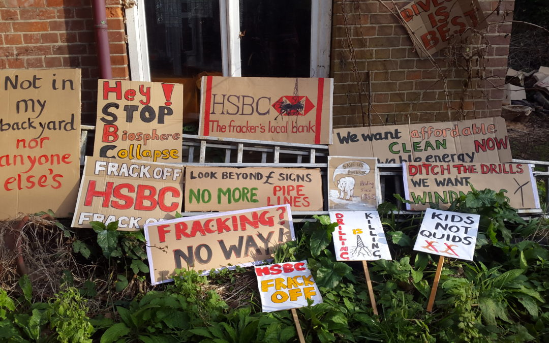 Cambridge HSBC Action: Stop Funding Destruction!